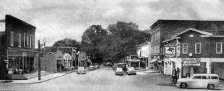 Black and white photo from 1953